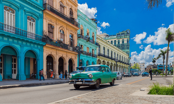 Retorno do turismo em Cuba