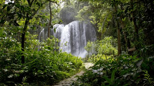Cachoeira em Cuba